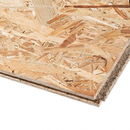 18mm OSB 3 TG4E Tongue & Groove Flooring Board 2440mm x 590mm (8' x 1.94')