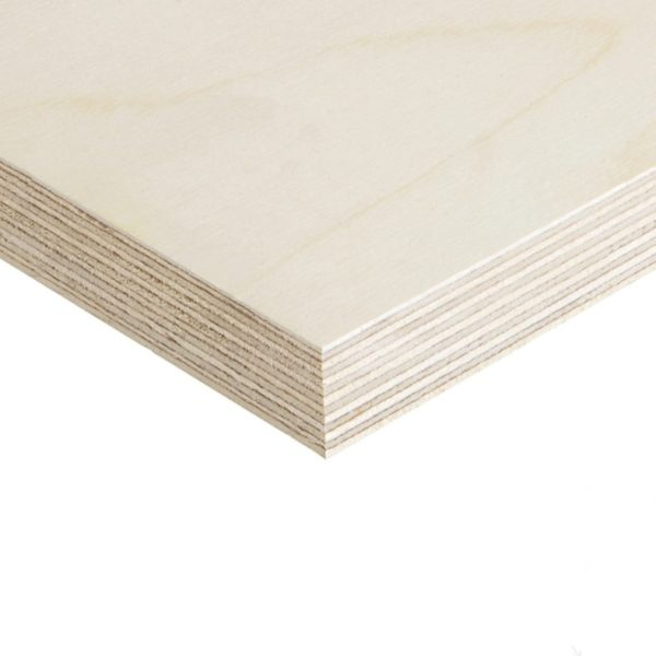 9mm Birch Plywood Throughout BB/CP 2440mm x 1220mm (8′ x 4′)
