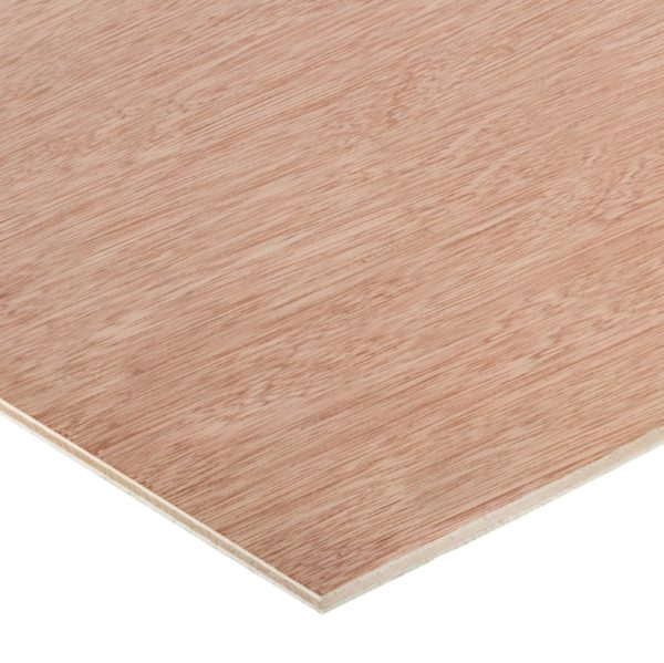 5.5mm Chinese Hardwood Face Poplar Core External Grade Plywood B/BB CE2+ 3050mm x 1525mm (10' x 5')