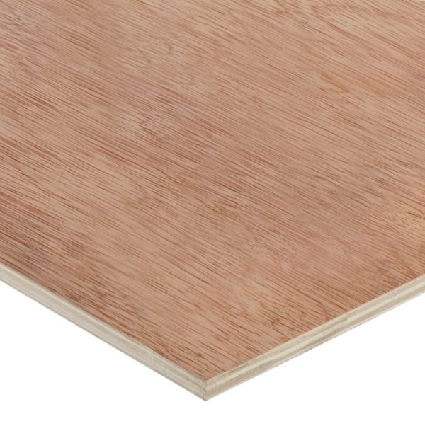 9mm Chinese Hardwood Face Poplar Core External Grade Plywood B/BB CE2+ 3050mm x 1525mm (10' x 5')