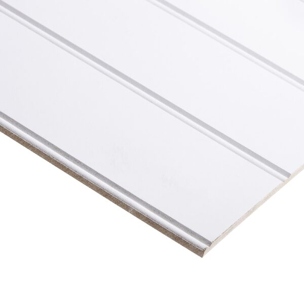 9mm Bead & Butt Primed Long Grooved Moisture Resistant MDF 2440mm x 1220mm (8′ X 4′)