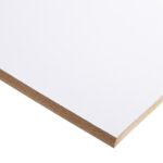 18mm Double-sided White Melamine Faced MDF 2440mm x 1220mm (8′ x 4′)