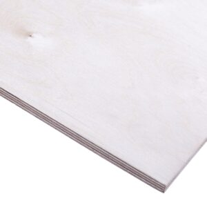 12mm Birch Plywood Throughout BB/CP 2440mm x 1220mm (8′ x 4′)