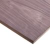 19mm Black Walnut Veneered MDF 2 Sides Crown Cut 2440mm x 1220mm (8′ x 4′)