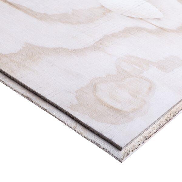 18mm ARAUCOPLY Tongue & Groove TG4 Chilean Radiata Pine Softwood Plywood Flooring CPC 2400mm x 600mm (8′ x 2′)
