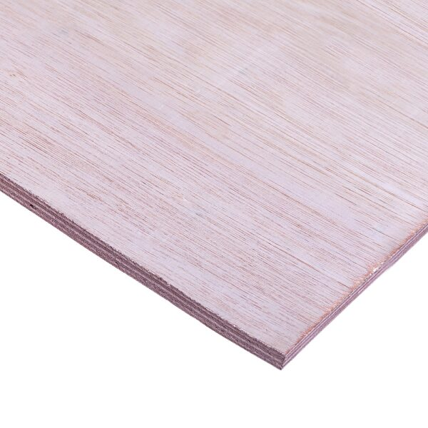 12mm Chinese Hardwood Face Poplar Core External Grade Plywood B/BB CE2+ 3050mm x 1525mm