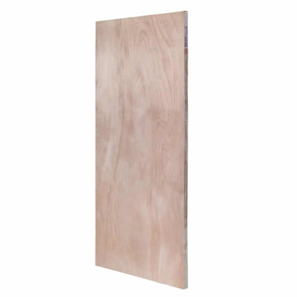 54mm Plywood Solid Core Door Blank Fire Door 2134mm x 915mm (7' x 3') FD60