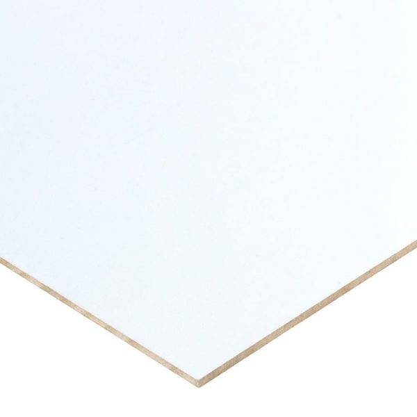12mm Double-sided White Melamine Faced MDF 2440mm x 1220mm (8' x 4')