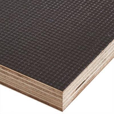 18mm Eucalyptus Core Anti Slip Mesh Phenolic Film Plywood 2440mm X 1220mm (8′ X 4′)
