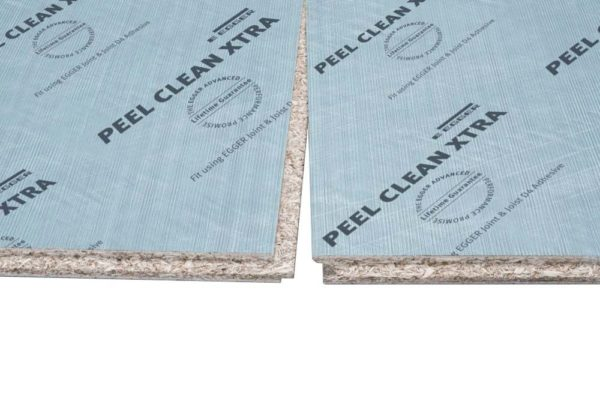 18mm Egger Peel Clean Xtra P5 Tongue and Groove Moisture Resistant Chipboard Flooring 2400mm x 600mm (8' x 2')
