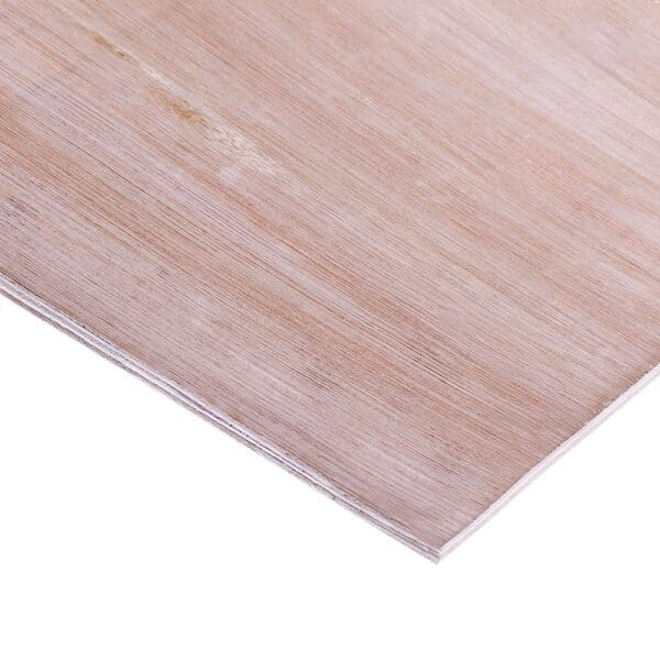 12mm Chinese Red Faced Internal Grade Hardwood Plywood B/BB CE2+ 2440mm x 1220mm (8′ x 4′)