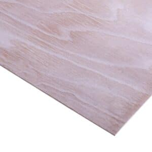 3.6mm Chinese Hardwood Q Mark External Grade Plywood B/BB CE2+ 2440mm x 1220mm (8′ x 4′)