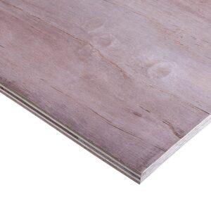 18mm Malaysian Hardwood Keruing Core External Grade Plywood BB/CC 2440mm x 1220mm (8′ x 4′)