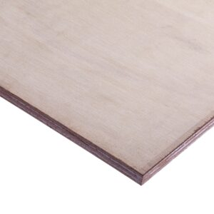 15mm Malaysian Hardwood Keruing Core External Grade Plywood BB/CC 2440mm x 1220mm (8′ x 4′)