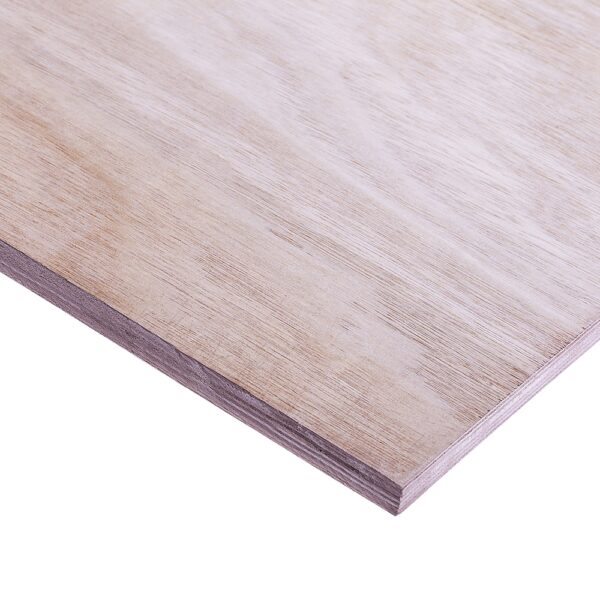 18mm Chinese Hardwood Combi Core External Grade Plywood B/BB CE2+ 2440mm x 1220mm (8′ x 4′)
