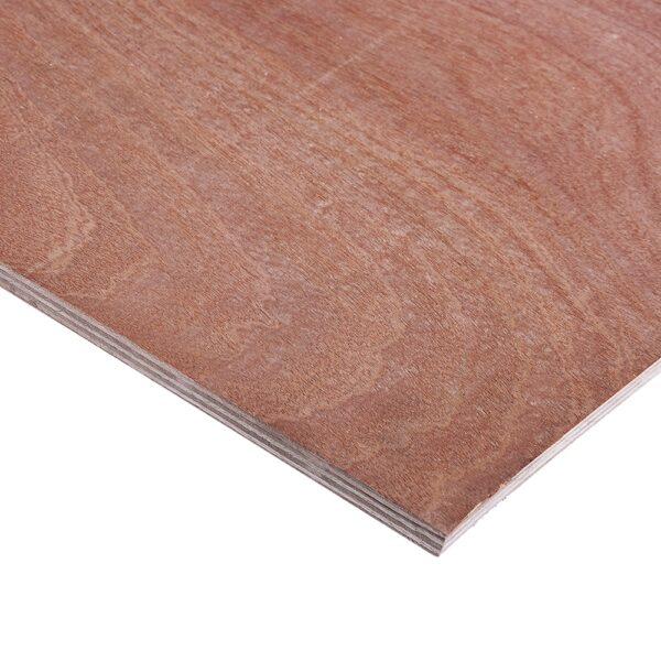 12mm Chinese Hardwood Combi Core External Grade Plywood B/BB CE2+ 2440mm x 1220mm (8′ x 4′)