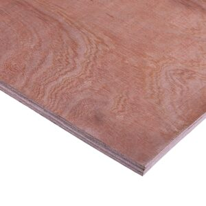 15mm Chinese Hardwood Combi Core External Grade Plywood B/BB CE2+ 2440mm x 1220mm (8′ x 4′)