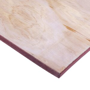 18mm Chinese Pinex Poplar Pine Structural Softwood Plywood C+/C 2440mm x 1220mm (8′ x 4′)