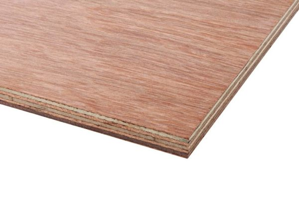 5.5mm Malaysian Hardwood Keruing Core External Grade Plywood BB/CC 2440mm x 1220mm (8' x 4')