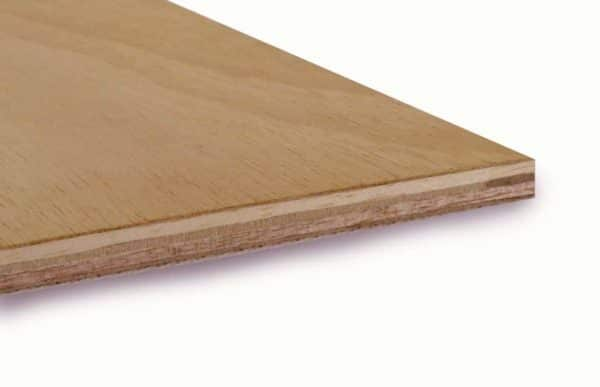 9mm Chinese Hardwood Q Mark External Grade Plywood B/BB CE2+ 2440mm x 1220mm (8' x 4')