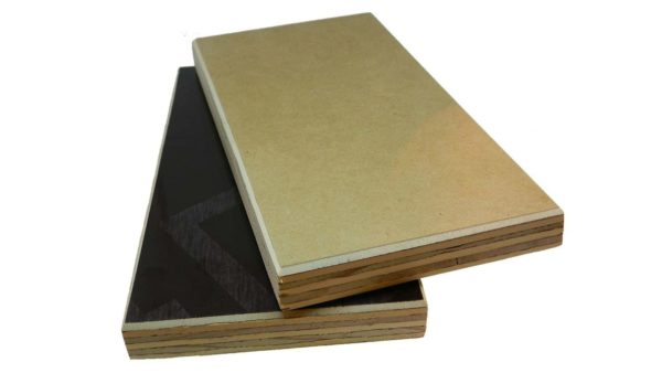 18mm Chilean Tulsaform MDO Paper One Side Plywood 2440mm x 1220mm (8′ x 4′)