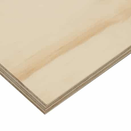 18mm Chilean Radiata Pine Softwood Plywood 2440mm x 1220mm (8' x 4')