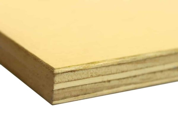 21mm Brazilian Plastform MDO Paper One Side, Film Another Side Plywood 2440mm x 1220mm (8′ x 4′)