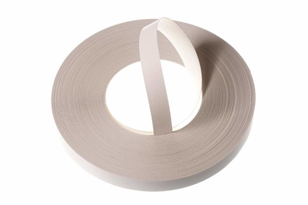 22mm Smooth White Melamine Pre-Glued Edging Strip 50m