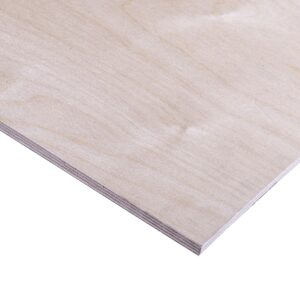 12mm Birch Plywood Throughout BB/BB 2440mm x 1220mm (8′ x 4′)