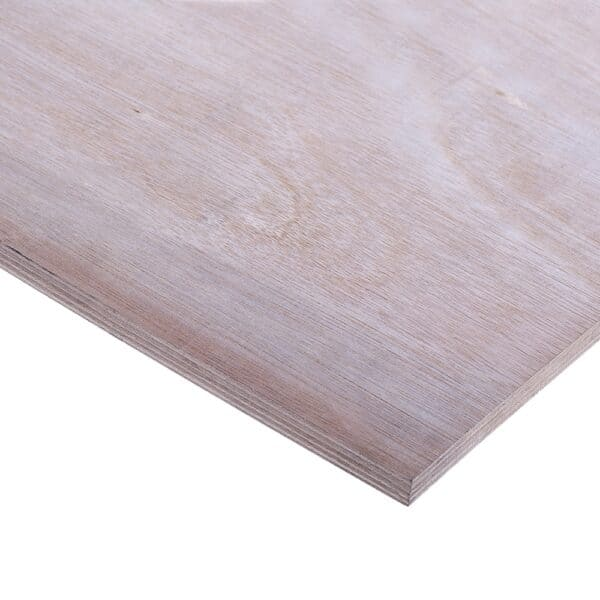 15mm Chinese Hardwood Q Mark External Grade Plywood B/BB CE2+ 2440mm x 1220mm (8′ x 4′)