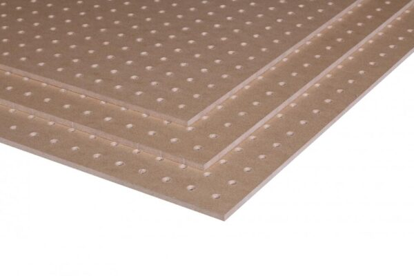 6mm Oil Tempered Perforated Hardboard 2440mm x 1220mm (8′ x 4′)